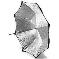 Calumet 16-Panel Silver / Black Umbrella - 132cm
