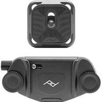 Peak Design Capture Camera Clip V3 with Standard Plate (Black)