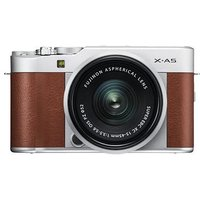 Fujifilm X-A5 Digital Camera with XC 15-45mm Lens - Brown sale image