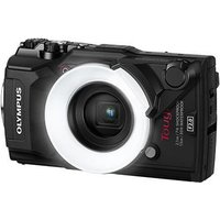 Olympus Stylus Tough TG-5 Digital Camera - Black with FD-1 Flash Diffuser