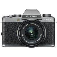 Fujifilm X-T100 Digital Camera with 15-45mm XC Lens - Dark Silver sale image