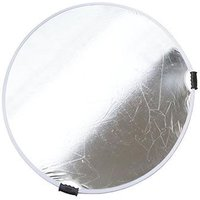 Calumet 132cm Collapsible Reflector - Silver / White