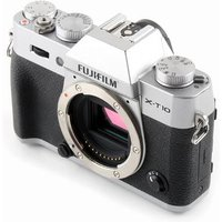 Used Fuji X-T10 Digital Camera Body - Silver sale image