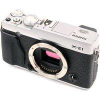 Used Fuji X-E1 Digital Camera Body - Silver sale image