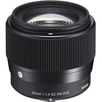 Image of Sigma 56mm f1.4 AF DC DN Contemporary Lens - Sony E Fit