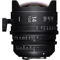 Sigma Cine 14mm T2 FF Lens Fully Luminous - PL Mount