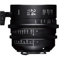 Sigma Cine 24mm T1.5 FF Lens Fully Luminous - PL Mount