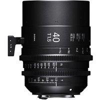 Sigma Cine 40mm T1.5 FF Lens Fully Luminous - PL Mount