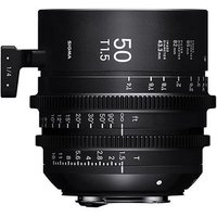 Sigma Cine 50mm T1.5 FF Lens Fully Luminous - PL Mount