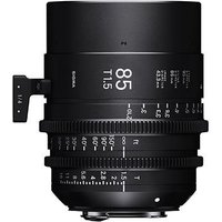 Sigma Cine 85mm T1.5 FF Lens Fully Luminous - PL Mount