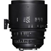 Sigma Cine 105mm T1.5 FF Lens Fully Luminous - PL Mount