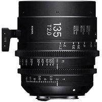 Sigma Cine 135mm T2 FF Lens Fully Luminous - PL Mount