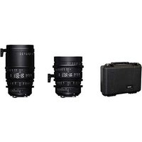 Sigma Cine High Speed Zoom Lens Kit Fully Luminous - Canon Mount