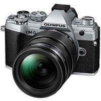 Olympus OM-D E-M5 Mark III Digital Camera with 12-40mm Lens - Silver