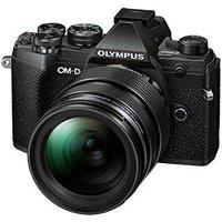 Olympus OM-D E-M5 Mark III Digital Camera with 12-40mm Lens - Black