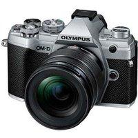 Olympus OM-D E-M5 Mark III Digital Camera with 12-45mm Lens - Silver