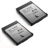 Angelbird 4TB 1700MB/Sec AV PRO CFexpress (Type-B) - 2 Pack