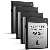 Angelbird 660GB 1700MB/Sec AV PRO CFexpress XT (Type-B) - 4 Pack