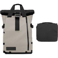 WANDRD PRVKE 31 Backpack + Essential Camera Cube - Gobi Tan