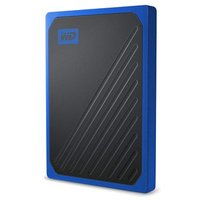 WD 1TB My Passport Go Portable SSD - Black w/ Cobalt trim