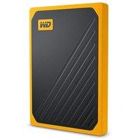 WD 1TB My Passport Go Portable SSD - Black w/ Amber trim