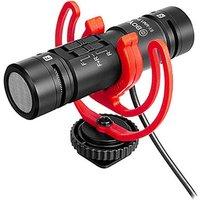 Boya BY-MM1 Pro Ultracompact Camera-Mount Dual-Capsule Shotgun Microphone