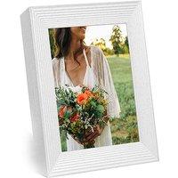 Aura Mason 9 inch Digitial Photo Frame - White Quartz