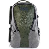 Morally Toxic Valkyrie Camera Backpack Large - Emerald Green