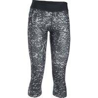 Under Armour Women's HG Armour Printed Capri Gym Tight   Tights