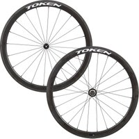 Token Resolute C45R Carbon Clincher Road Wheelset   Wheel Sets