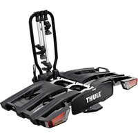 Thule EasyFold XT 934 AcuTight 13-Pin 3-Bike Carrier - Black/Silver