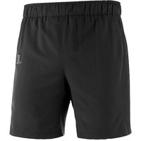 Image of Salomon Agile 2in1 Short - Small Black | Shorts
