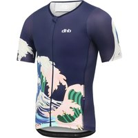 dhb Blok Tri Short Sleeve Top - Wave   Tri Tops