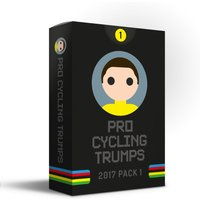 Pro Cycling Trumps 2017 Pack 1   Gifts