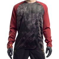 Nukeproof Nirvana Long Sleeve Jersey - Grunge Jerseys