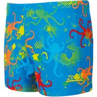 Zoggs Boy's Octopus Fever Hip Racer   Swimming Shorts