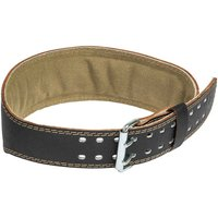 "Harbinger 4"" Padded Leather Belt Weightlifting Belts"