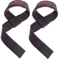 Harbinger Padded Cotton Lifting Straps   Arm Supports