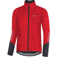 Image of Gore Wear C5 Gore-Tex Active Cycling Jacket - L Red/Black | Jackets