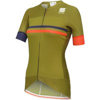 Image of Sportful Exclusive Women's Retro Classic Jersey - L Green | Jerseys