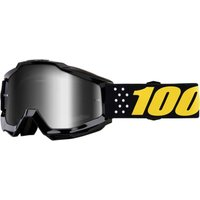 100% Accuri Youth Goggles Mirror Lens - One Size Black 2