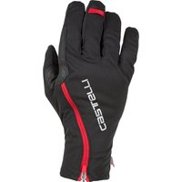 Image of Castelli Spettacolo ROS Gloves - S Black/Red | Gloves