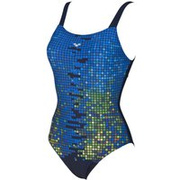 Arena Women's Opal Wing Back One Piece Swimsuit   One Piece Swimsuits
