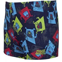Zoggs Boy's Boxer Dog Hip racer   Swimming Shorts