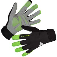 Image of Endura Windchill Gloves - 2XL Hi-Viz Green | Gloves