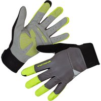 Image of Endura Windchill Gloves - S Hi-Viz Yellow | Gloves