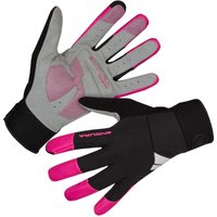 Image of Endura Women's Windchill Gloves - M Pink | Gloves