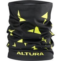 Altura Neck Warmer - One Size Black/Hi-Viz Yellow | Neck Tubes