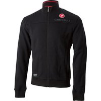 Castelli Milano Track Jacket - L Black | Fleeces