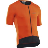 Image of Northwave Essence Short Sleeve Jersey - L Orange | Jerseys